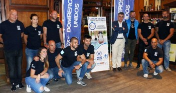 Presentación de la Carrera Solidaria Bomberos Unidos sin fronteras.