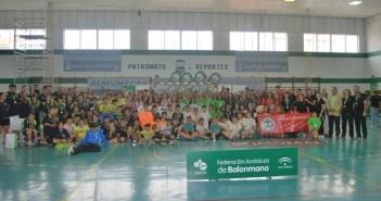 Campeonato de Andalucía alevín de balonmano.