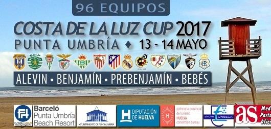 Cartel del Costa de la Luz Cup.
