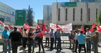 Protesta por despidos en RMD Seguridad (1)