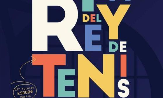 Cartel de la 92 Copa del Rey de tenis de Huelva.
