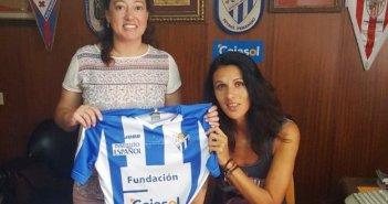 Elena Pavel, central rumana del Cajasol Sporting.