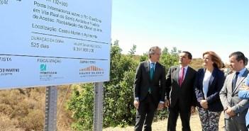 20170605 Cartel mejoras puente Ayamonte Portugal 2