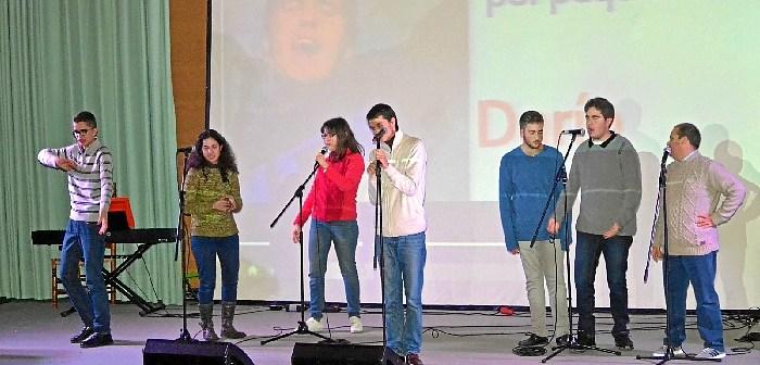 Alumnos de ETHOS en Gala discapacidad 2016