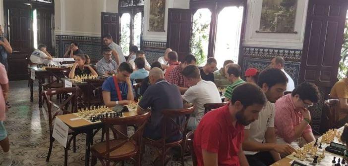 Campeonato de ajedrez en Almonte.