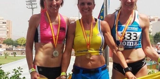 Elena Cobos, atleta isleña.