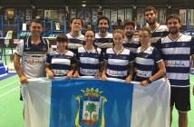 IES La Orden en cuartos de final del Campeonato de Europa de bádminton.