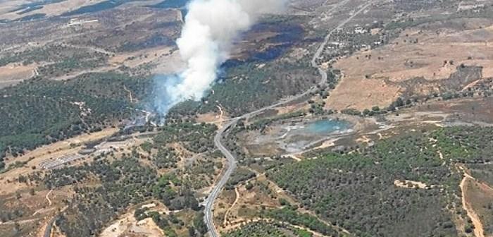 Incendio Ayamonte