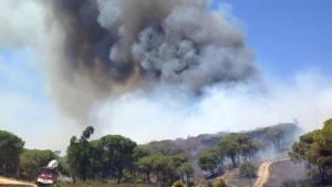 Incendio en Ayamonte (2)