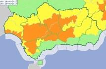aviso naranja calor