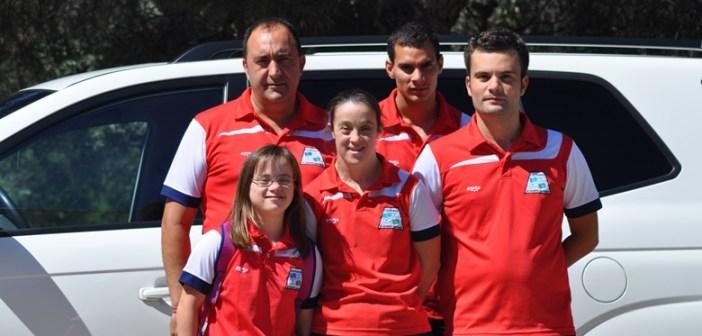 Deportistas del CODA seleccionados para el Campeonato de España.