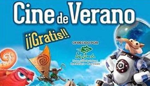 CINE VERANO. Cartel 2017