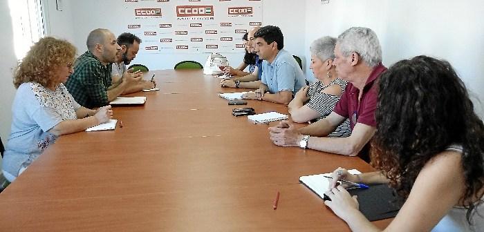 Encuentro PCA Huelva con CCOO Huelva 01