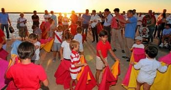 Toreo al atardecer Huelva01