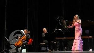 La reapertura del Foro el pasado 30 de junio contó con la presencia de la soprano Ainhoa Arteta.