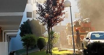 Incendio en casa Villa Conchita II