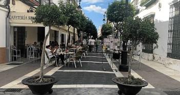 Maceteros Semana Cultural en San Juan del Puerto