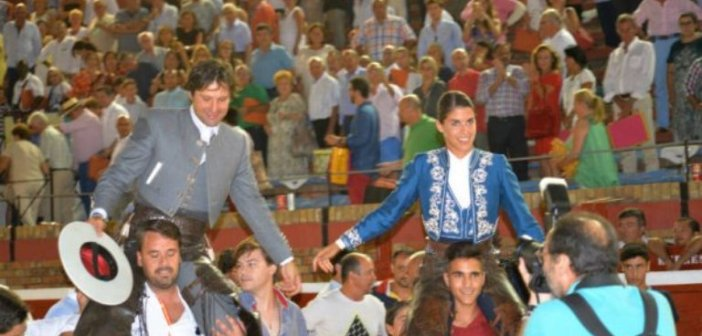 Romero y Vicens salen a hombros