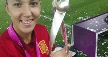 Cinta Rodríguez, campeona de Europa sub 23.