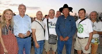 Activista norteamericano Lee en Almonte (2)
