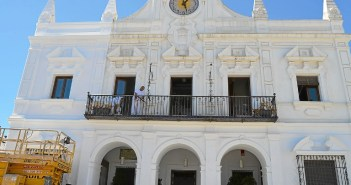 Fachada ayuntamiento de Cartaya