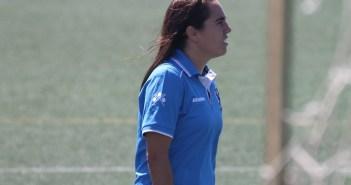 Jenny Benítez, entrenadora del Cajasol Sporting B.