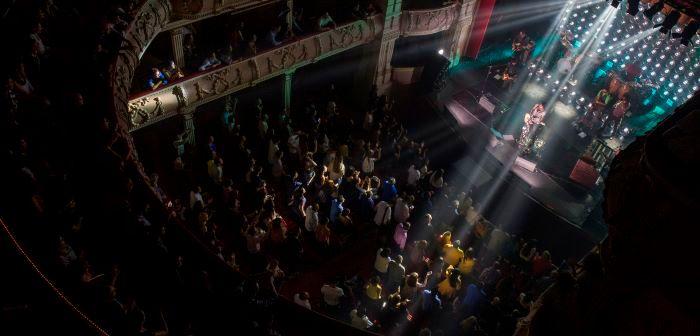 Concierto de Leiva este viernes en el Gran Teatro de Huelva.