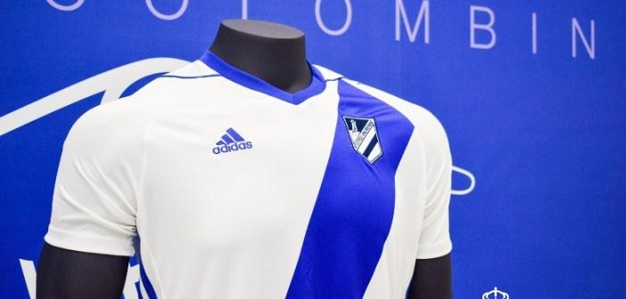 Primera equipación del Atlético Onubense.