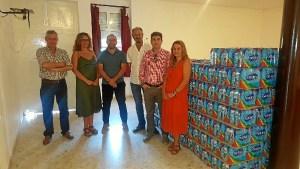 Reparto agua asentamientos CCOO1