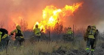Los incendios han sido protagonistas negativos este verano tanto en Huelva como en la vecina Portugal.  (Foto: Plan Infoca)