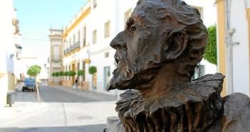 Monumento a Cervantes erigido en La Palma