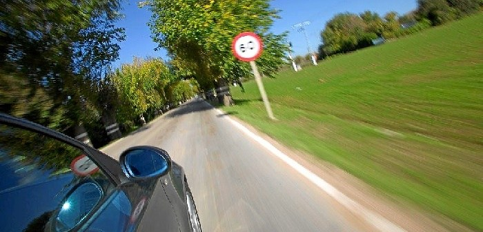 Velocidad carreteras secundarias