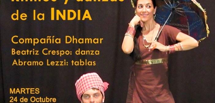ritmos India - biblioteca huelva