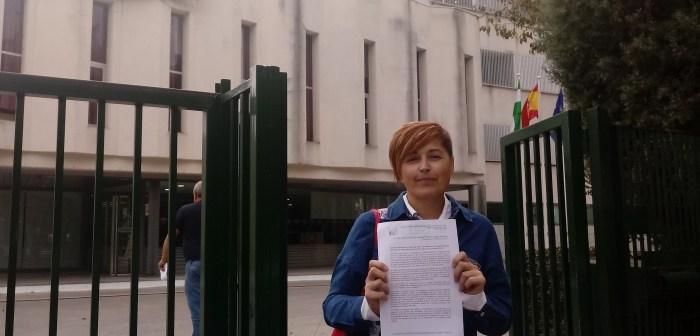 Isabel Lancha, portavoz IU Nerva01 (1)