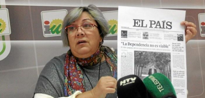 Monica Rossi, concejala IU Ayto de Huelva