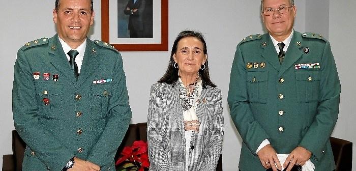 20171227 Subdelegada ttcc Guardia Civil