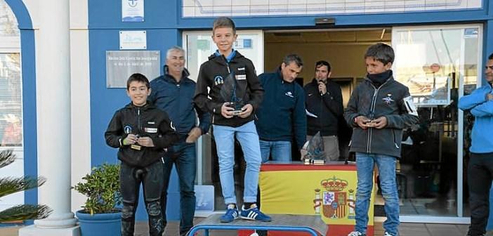 El podio Sub-13.