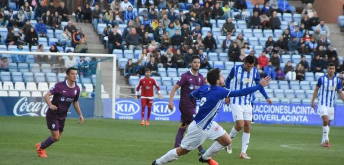 Rafa de Vicente fue el autor del gol albiazul. (Tenor)