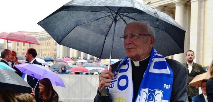 Antonio Bueno, capellán del Recreativo de Huelva.