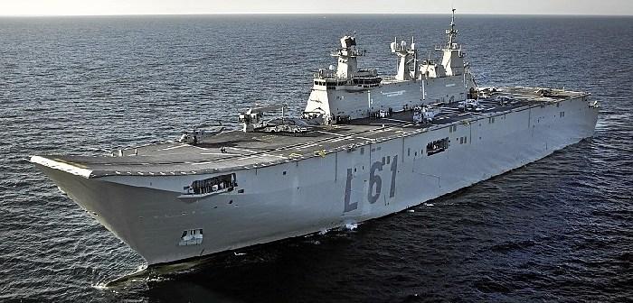 buque anfibio portaaeronaves 'Juan Carlos I'