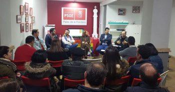 Acto del PSOE en Palos sobre LGTBI