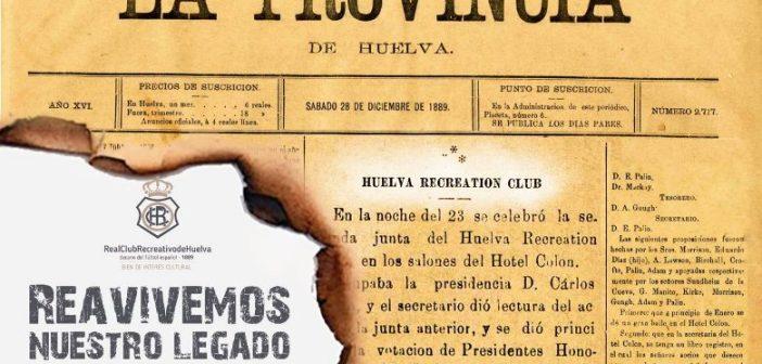 Campaña abonos Recreativo de Huelva.