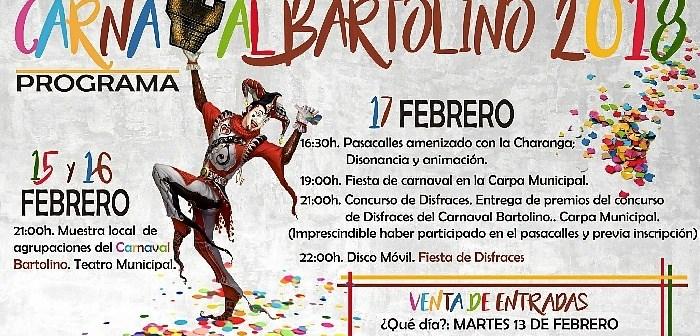 Cartel Carnaval Bartolino