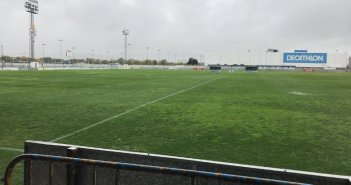 Campo de la Ciudad Deportiva del Decano del fútbol español.