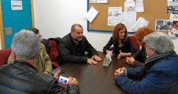 Encuentro IU en IES Fuente Juncal de Aljaraque