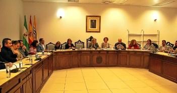 Pleno del Ayuntamiento isleño (Archivo)