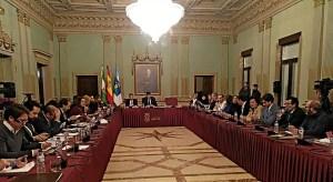 Pleno del Recreativo de Huelva