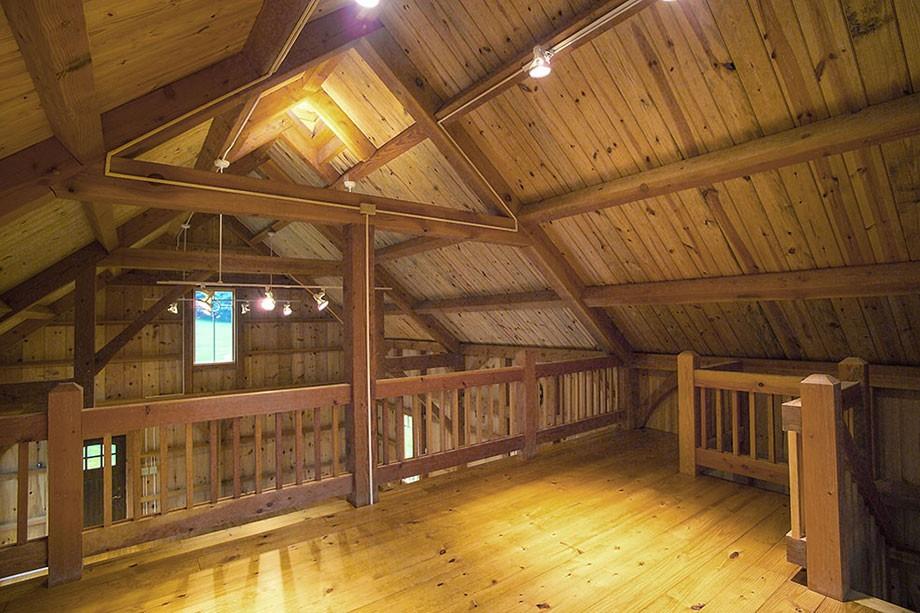 Hugh Lofting Timber Framing Carriage House