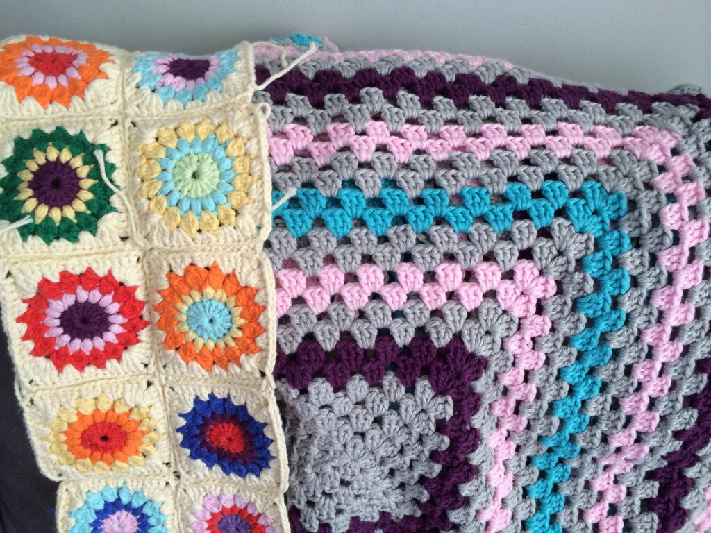 Crochet Blankets by Hugs are Fun