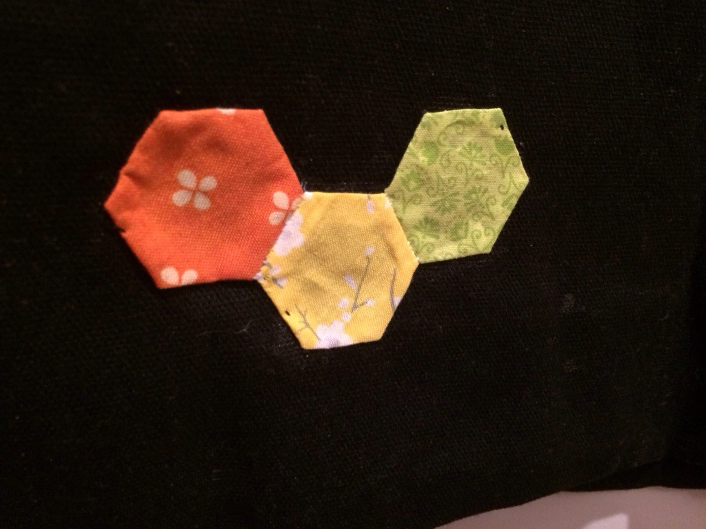 The Imperfect Hexagon Bag by Hugs are Fun